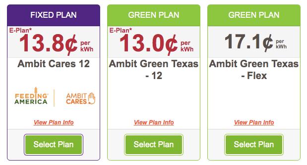 ambit energy plans