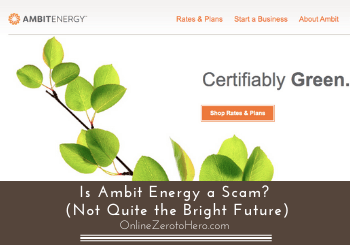 is ambit energy a scam header
