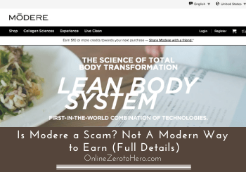 Is Modere a Scam? Not a Modern Way to Earn (Full Details)