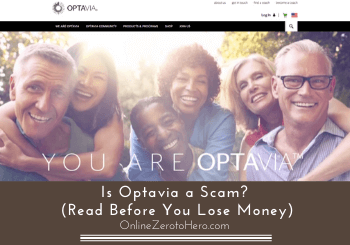 is optavia a scam header