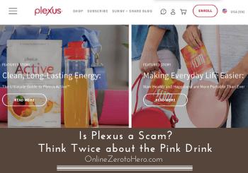 is plexus a scam header