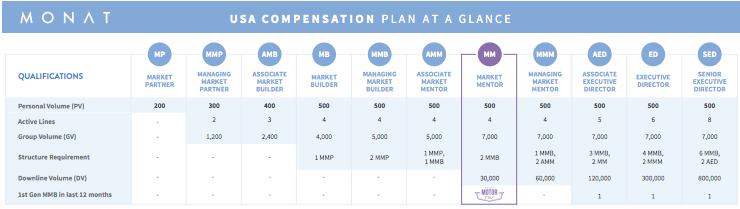 monat compensation overview