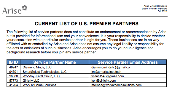 arise premier partners
