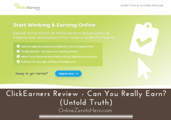ClickEarners Review – Can You Really Earn? (Untold Truth)