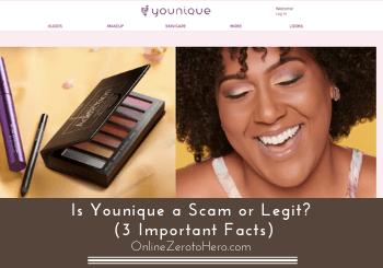 is younique a scam header