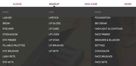 younique product categories