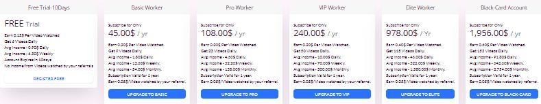 midjobs pricing